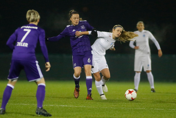 RSA Anderlecht - KRC Genk Ladies - Nadine Hanssen of KRC Genk Ladies