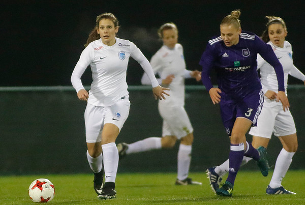 RSA Anderlecht - KRC Genk Ladies - Nathalie Weytjens of KRC Genk Ladies