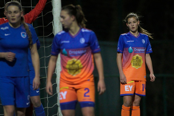 20-03-2018 - Genk - KRC Genk Ladies - KAA Gent Ladies - Shari Vanbelle of KAA Gent Ladies