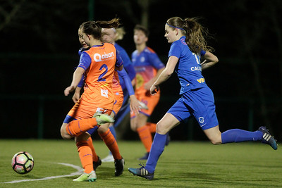 20-03-2018 - Genk - KRC Genk Ladies - KAA Gent Ladies - Sylke Calleeuw of KRC Genk Ladies