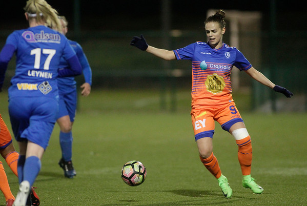 20-03-2018 - Genk - KRC Genk Ladies - KAA Gent Ladies - Amber Maximus of KAA Gent Ladies