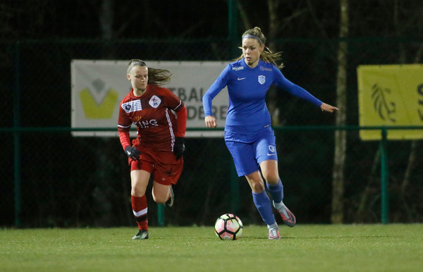Genk - 20180119 - KRC Genk Ladies - OHL Leuven - Nadine Hanssen of KRC Genk Ladies