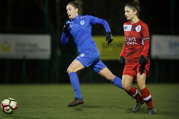 Genk - 20180119 - KRC Genk Ladies - OHL Leuven - Gwen Duijsters of KRC Genk Ladies