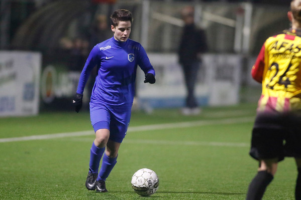 20180120 - KV Mechelen - KRC Genk Ladies Beloften - Eshter Knevels of KRC Genk Ladies