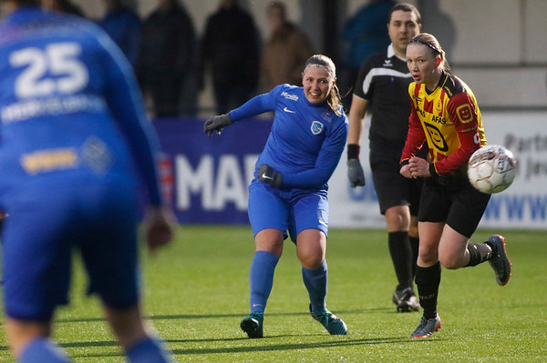 20180120 - KV Mechelen - KRC Genk Ladies Beloften - Esther Oversteyns of KRC Genk Ladies