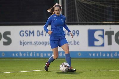 20180120 - KV Mechelen - KRC Genk Ladies Beloften - Fien Steyvers of KRC Genk Ladies