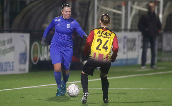 20180120 - KV Mechelen - KRC Genk Ladies Beloften - Eshter Oversteyns of KRC Genk Ladies