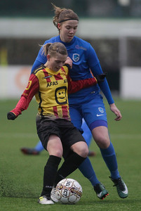 20180120 - KV Mechelen - KRC Genk Ladies Beloften - Hanne Merkelbach of KRC Genk Ladies