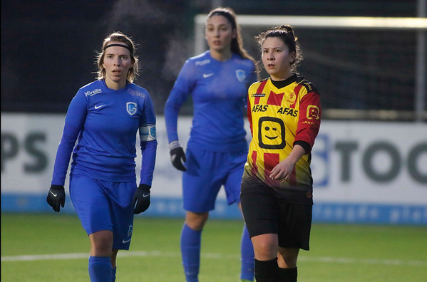 20180120 - KV Mechelen - KRC Genk Ladies Beloften - Kimberly Verbist of KRC Genk Ladies
