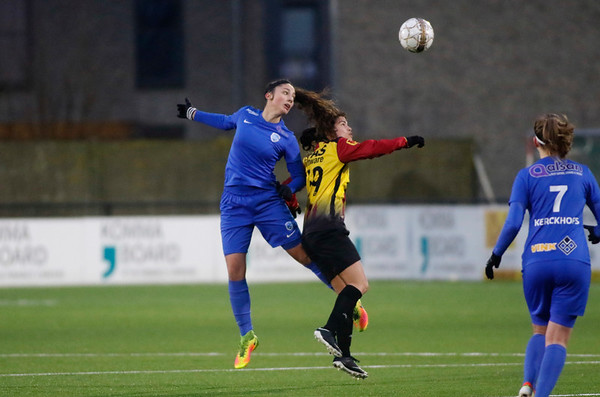 20180120 - KV Mechelen - KRC Genk Ladies Beloften - Amber Tysiak of KRC Genk Ladies