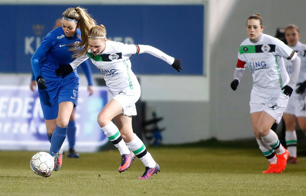 2018-02-24 - Leuven - OHL Leuven - KRC Genk Ladies - Nadine Hanssen of KRC Genk Ladies