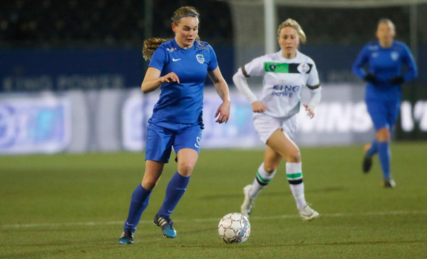 2018-02-24 - Leuven - OHL Leuven - KRC Genk Ladies - Sylke Calleeuw of KRC Genk Ladies