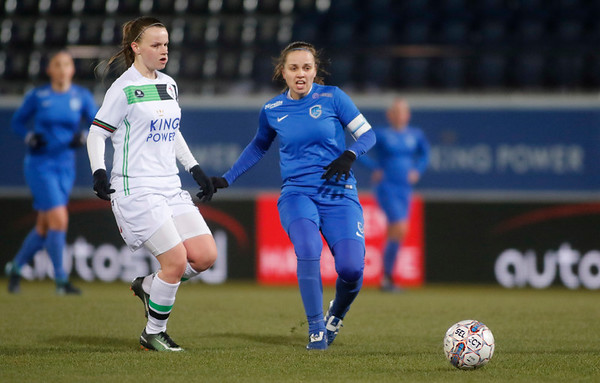 2018-02-24 - Leuven - OHL Leuven - KRC Genk Ladies - Riete Loos of KRC Genk Ladies