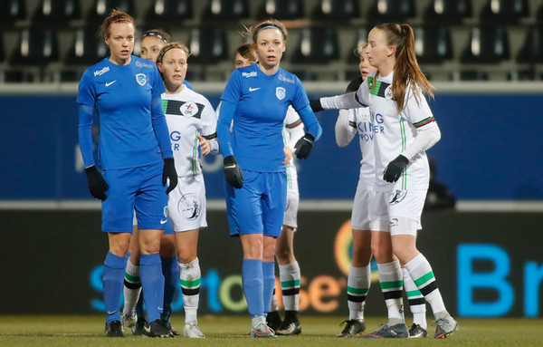2018-02-24 - Leuven - OHL Leuven - KRC Genk Ladies - Nadine Hanssen of KRC Genk Ladies - Lore Vanschoenwinkel of KRC Genk Ladies