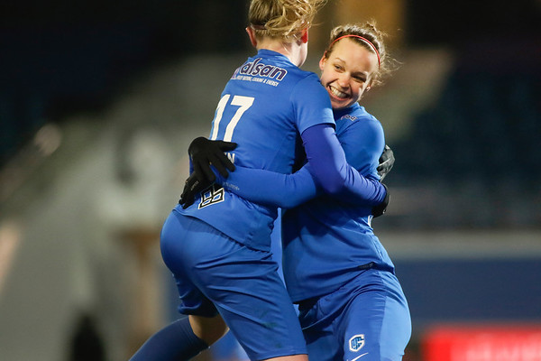 2018-02-24 - Leuven - OHL Leuven - KRC Genk Ladies - Silke Leynen of KRC Genk Ladies - Lore Vanschoenwinkel of KRC Genk Ladies