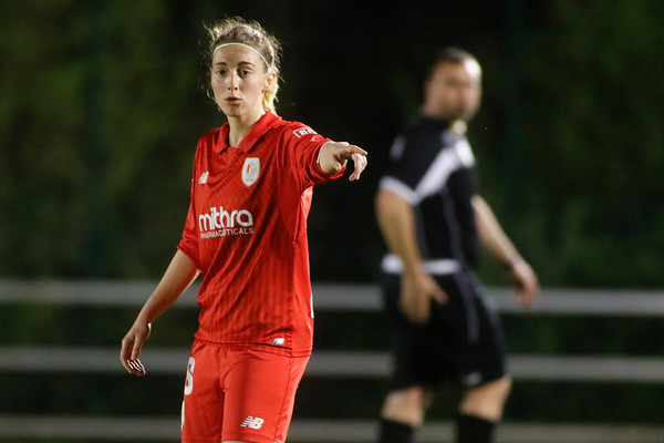 17-04-2018 - Liege - Standard Liege - KRC Genk Ladies - Charlotte Cranshoff of Standard De Liege