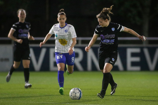 Gent - 27-04-2018 - KAA Gent Ladies - KRC Genk Ladies - Nathalie Weytjens of KRC Genk Ladies