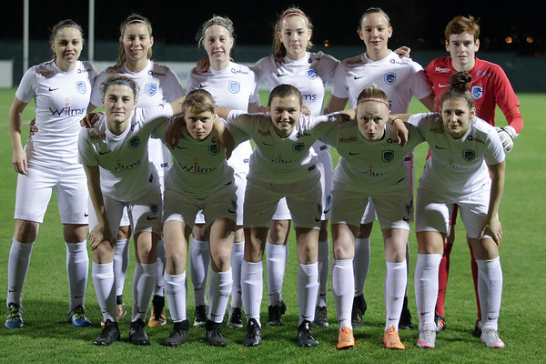 30-11-2018 - Tubeke - RSCA Anderlecht - KRC Genk Ladies - Illustratie of Team KRC Genk Ladies