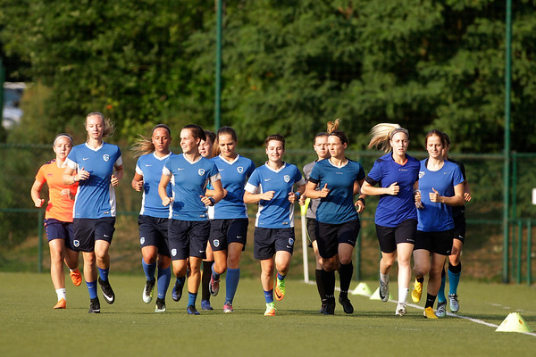 KRC Genk Ladies First Training