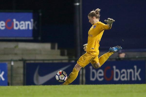 13-10-2018 - Genk - Super League - KRC Genk Ladies - RSC Anderlecht - Sofie van Houtven of KRC Genk Ladies