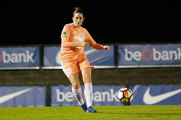 13-10-2018 - Genk - Super League - KRC Genk Ladies - RSC Anderlecht - Britt Vanhamel of RSC Anderlecht