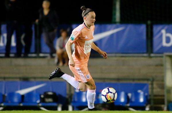13-10-2018 - Genk - Super League - KRC Genk Ladies - RSC Anderlecht - Elke van Gorp of RSC Anderlecht