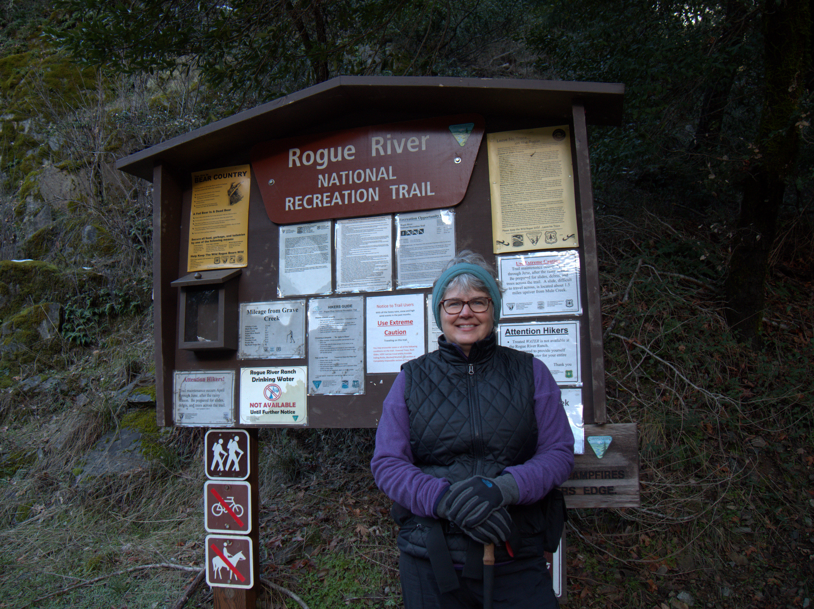 Upper Rogue River Trail Oregon