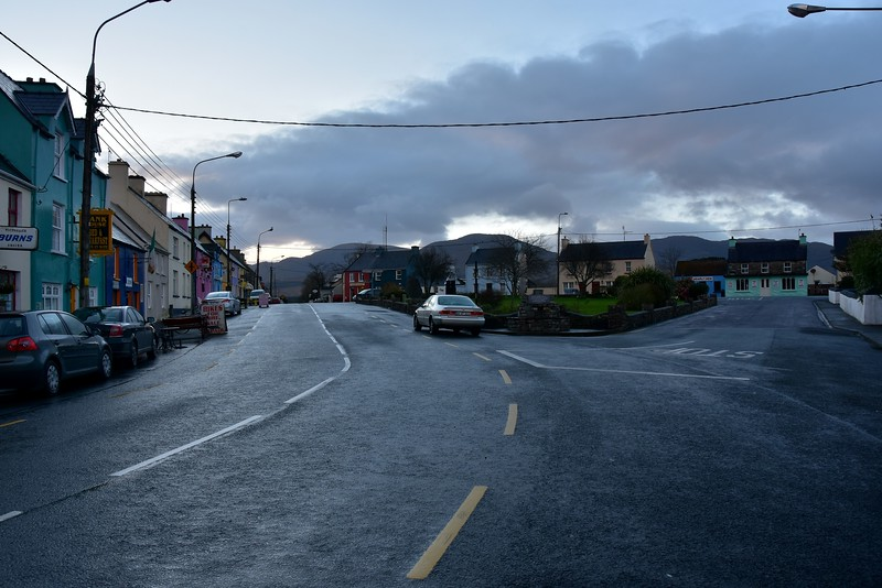 Sneem...view of North Green ...or is it South Green?