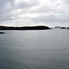 Panorama of Derrynane Harbour as viewed from Bunavilla Pier. Not sure of location of the single Vistor' Mooring!