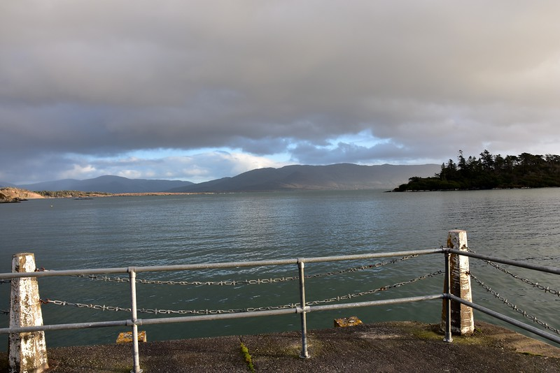 View from Oysterbed Pier looking out towards Kenmare River