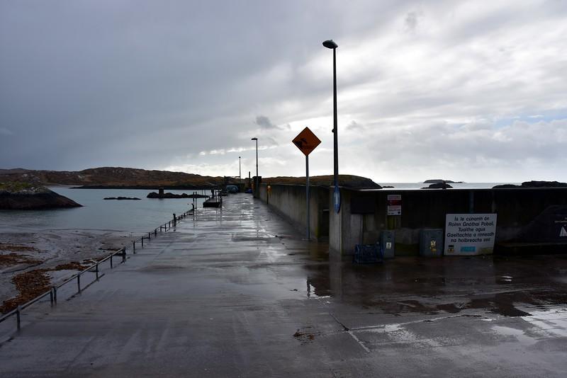Bunavilla Pier at Derrynane Harbour