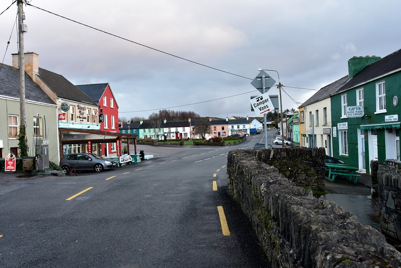 Sneem...view of North Green ...or is it South Green ...from bridge