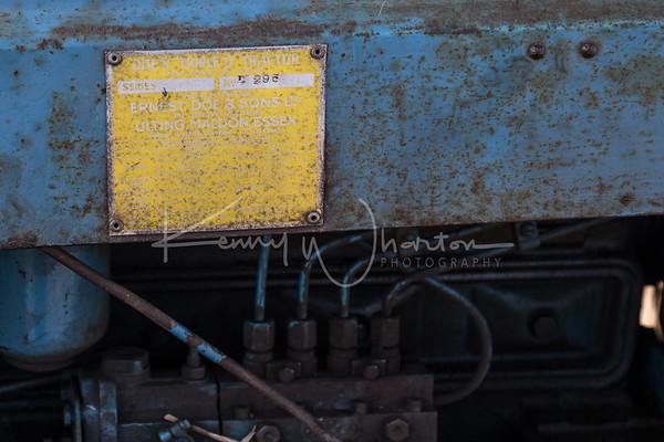 Doe Triple D tractor plate