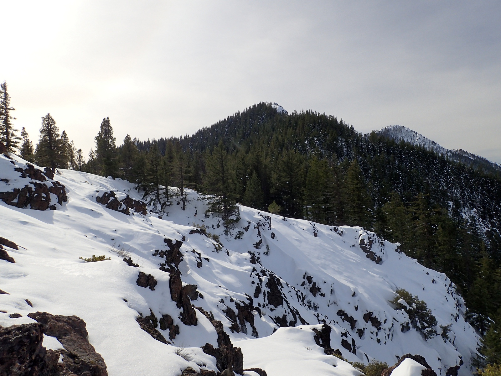 Kerby Peak Siskiyou Mountains Oregon