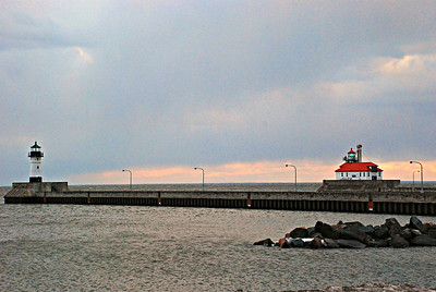 2017 03 07: Lake Superior, Canal Park, Duluth MN US