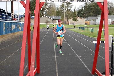 2017-04-09 Vernonia Marathon Finish Line
