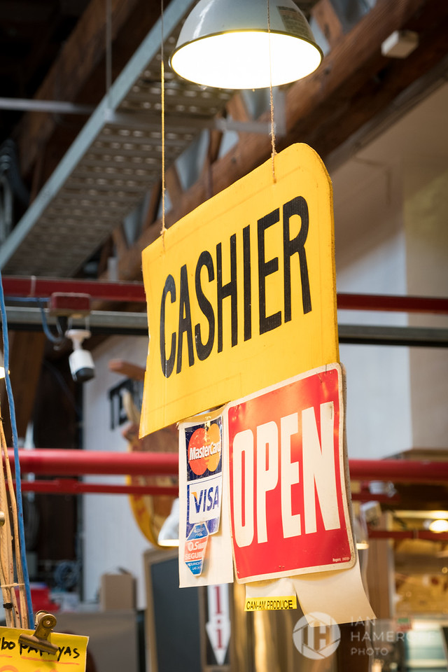 Cashier Open