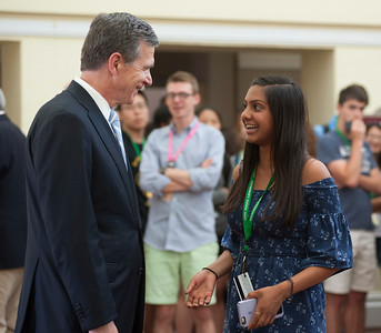 2017-07-11: Gov. Cooper Visits Governor School East