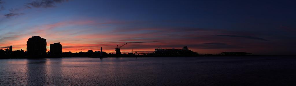 2017-07 Port Melbourne Sunrise
