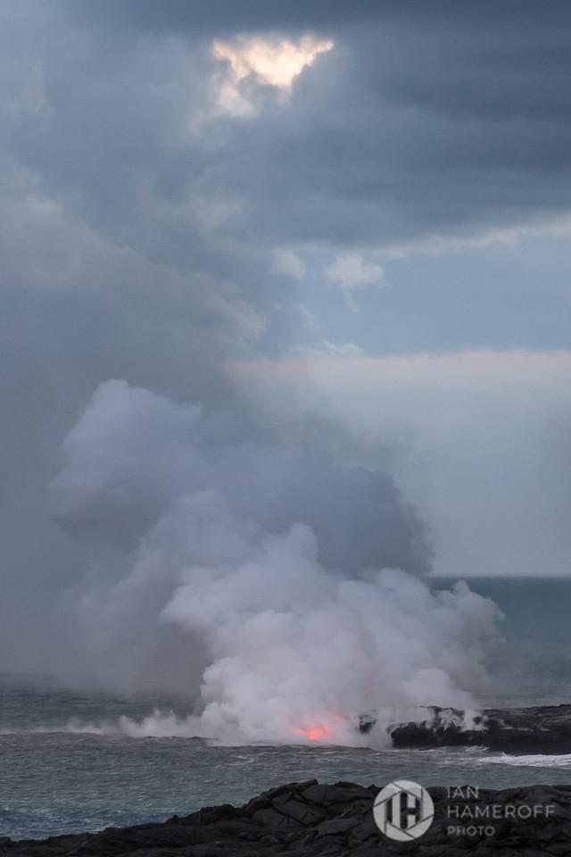 Lava and Sea