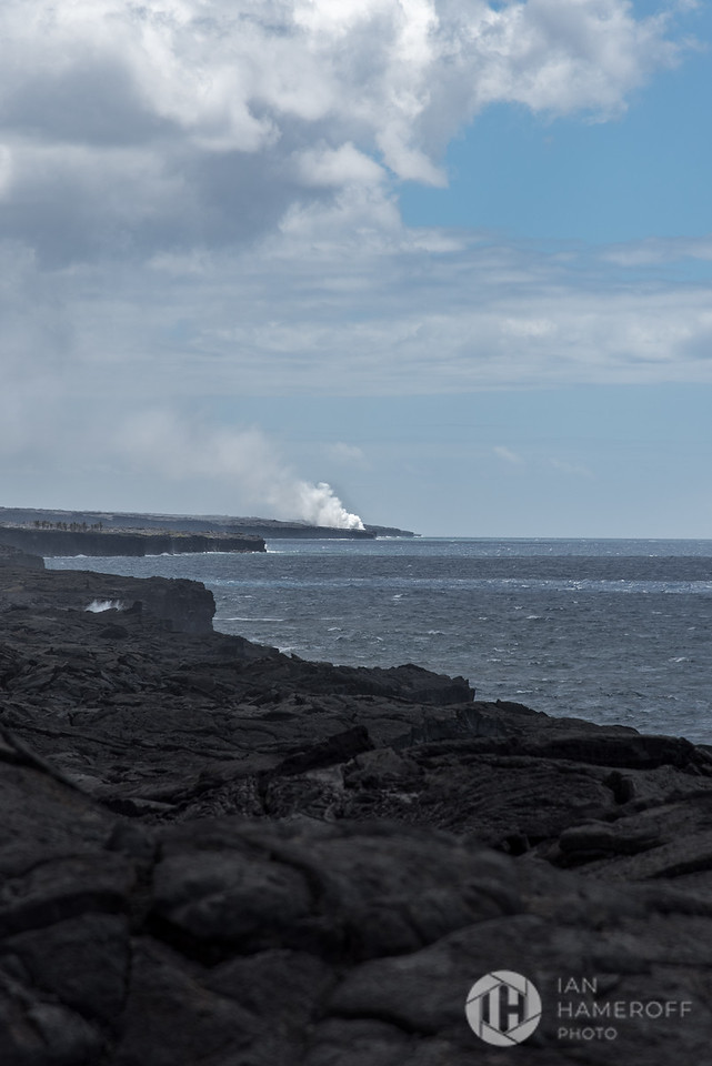 Off in the Distance, Lava Meets Sea