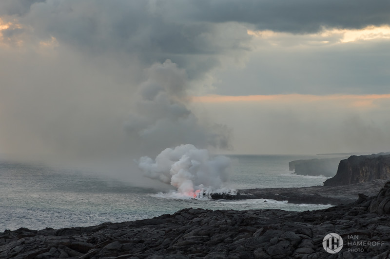 Lava and Sea