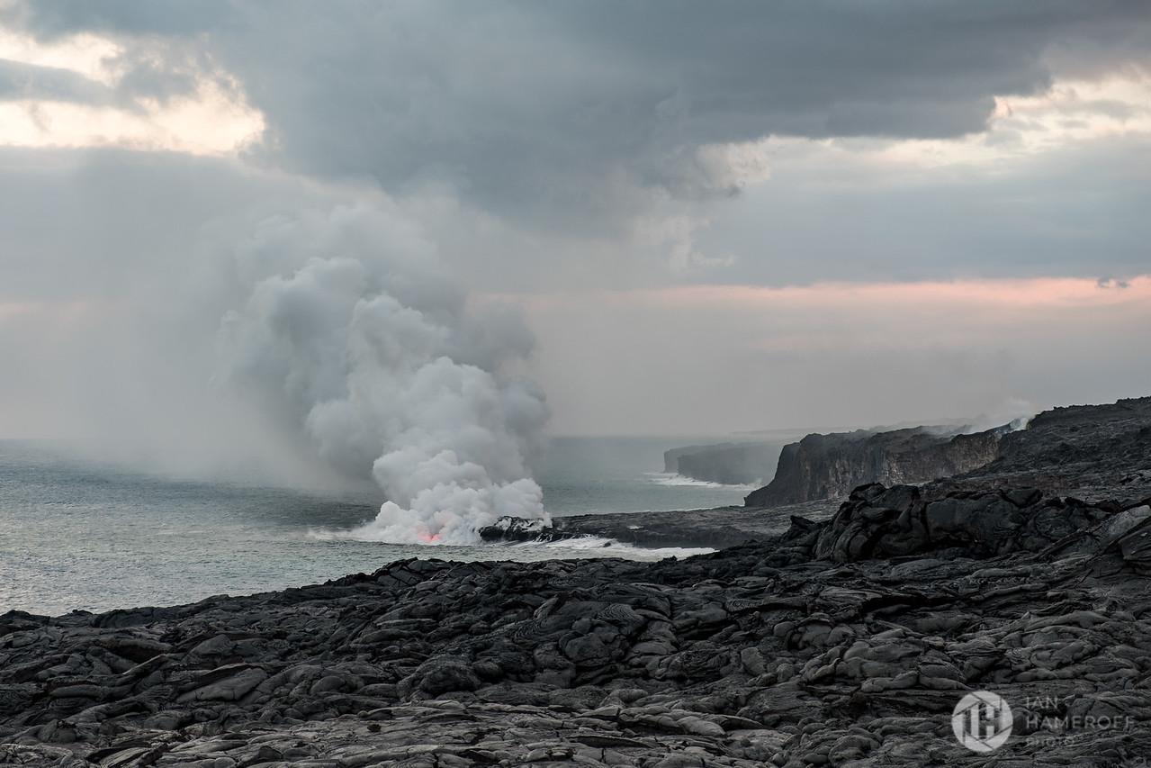 Lava Meets Sea
