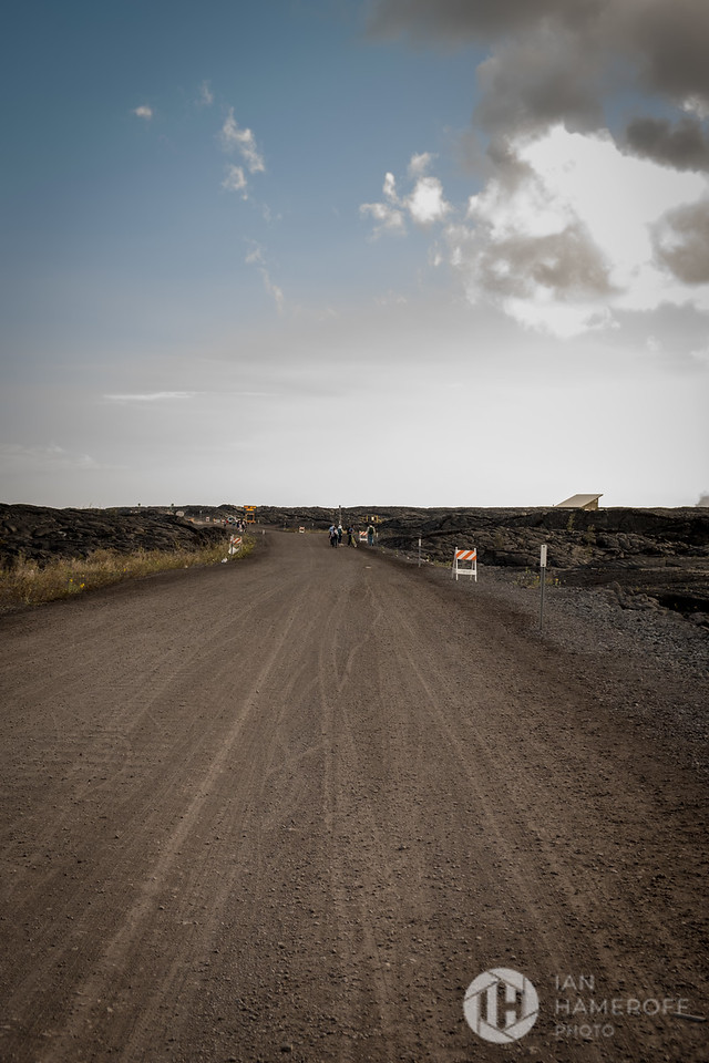 At the Start of the Lava Viewing Journey