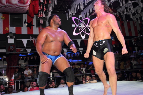 Image result for Keith Lee vs. Matt Riddle: Evolve 94