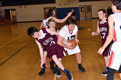 LTS Boys JV Basketball vs AMHS photos by Gary Baker