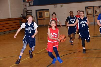 LTS M.S. Boys Basketball vs MEMS photos by Gary Baker