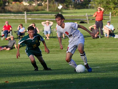 LTS Varsity Boys Soccer vs WR photos by Gary Baker