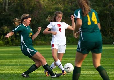 LTS Varsity Girls Soccer vs WR photos by Gary Baker
