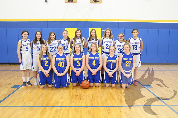 2017 JH Girls Basketball Team